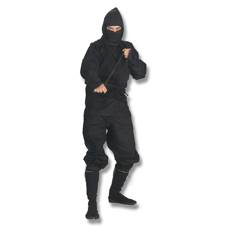 Black Ninja UNIFORM - Small
