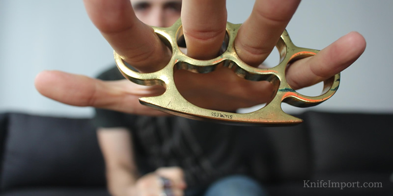 Why Most Brass Knuckles Are Illegal While Some Are Not Knife Import