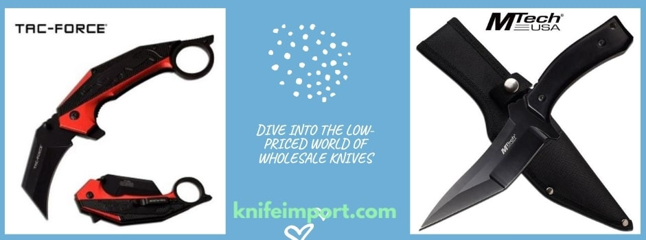 Dive Into The Low-Priced World Of Wholesale Knives