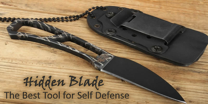 Hidden Blade The Best Tool For Self Defense Wholesale Knives