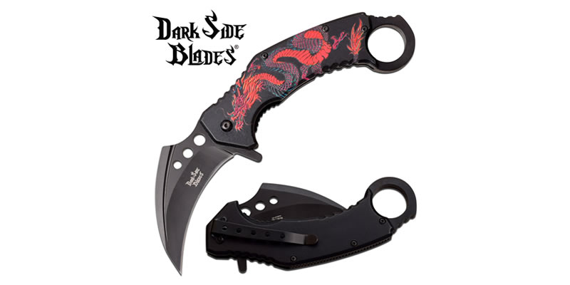 Karambit Knife Spring Assisted Knife