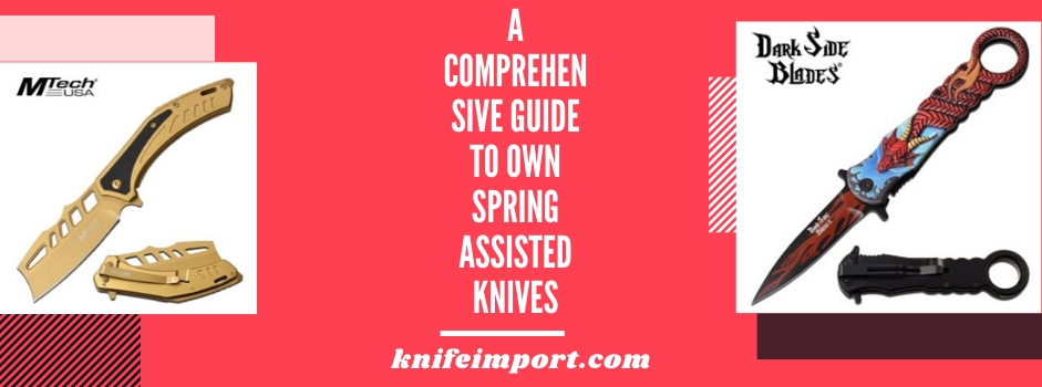 A Comprehensive Guide To Own Spring Assisted Knives