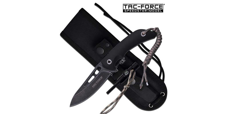 Tac Force Fixed Blade Outdoor Survival Knife