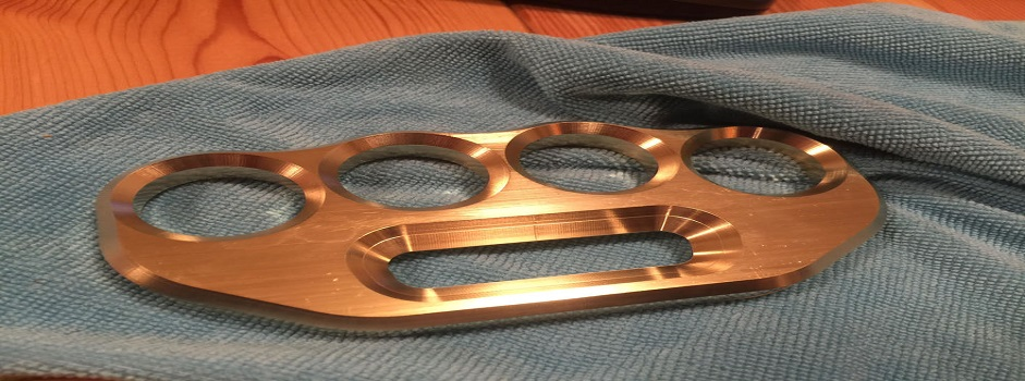 Simplistic and Handy Brass Knuckles for Sale