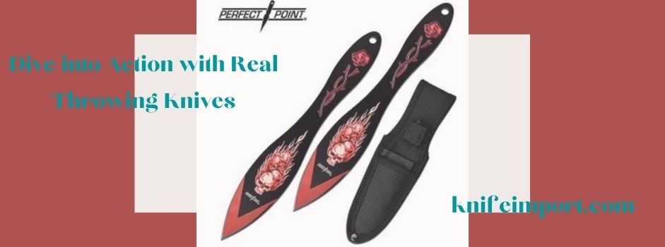 Dive into Action with Real Throwing Knives