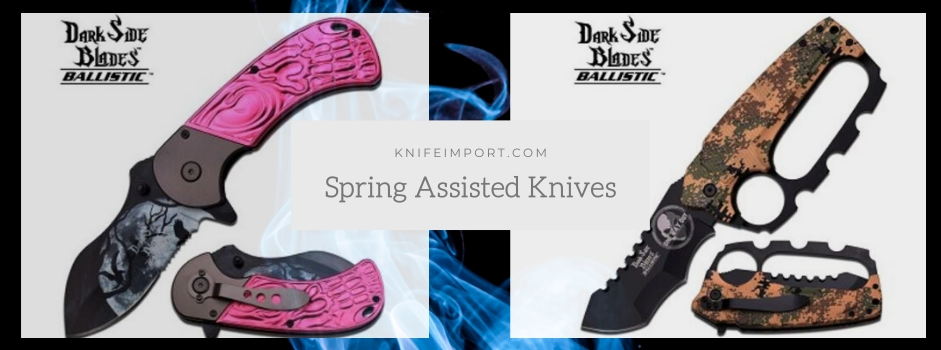 Spring Assisted Knives: Best Knives for Indoor and Outdoor Use