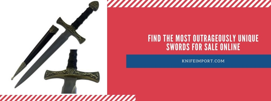 Find the Most Outrageously Unique Swords for Sale Online