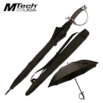 Mtech Outdoor Umbrella Black Saber Sword Handle