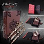 Assassin Creed Aguilar 3 Pc Throwing Knives Set Replica Official Licensed