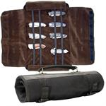 Knife Roll Carrying Case Holds 24 Pieces