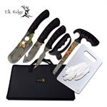 Elk Ridge 8 Piece Big Game Hunting Knife Set Camo