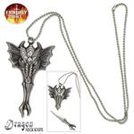 Celtic Dragon Necklace With Knife