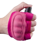 Pepper Spray With Knuckle Defense InstaFire Extreme Self Defense Pink