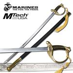 Marines The Few The Proud Military Sword Gold Handle