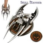 Skull Claw Knife with 6 Blades - Plaque
