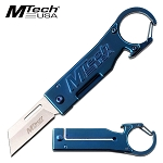 Mtech Manual Pocket Knife Blue Bottle Opener Knife