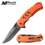 Mtech Spring Assisted Knife 8.25 Inch Pocket Knife Red