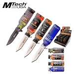 Pocket Knife The Bar Top Collection Spring Assisted Knives - 16 Piece POP Box