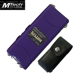 3.5 Million Volt Rechargeable Stun gun with LED Flash Light Blue