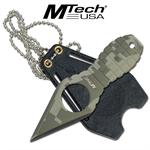 Digital Camo MTech Grenade Style Neck Knife