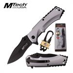 Mtech USA Folding Pocket Knife and 20 Function Multi-Tool Outdoor Kit