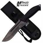 Mtech USA Xtreme  Full Tang Fixed Blade Tactical Knife - Dark Stone Wash
