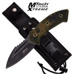 Mtech USA Xtreme 10 Inch Stone Wash Fixed Blade Tactical Knife - Digital Camo G10