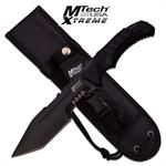 MTech USA Xtreme 11.75 Inch Tactical Fixed Blade Military Knife Black