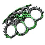 Green Dragon Zinc Aluminum Hand Knuckle