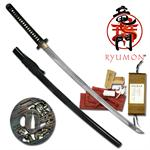 Ryumon Raijin Hand Forged Folded Carbon Steel Katana