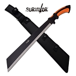 Outdoor Survival 24 Inch Fixed Blade Machete Knife