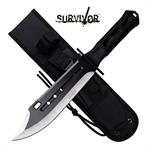 Survivor Big Bad Fixed Blade Military Bowie Knife