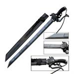 Fantasy Sword 30 Inch Length 4MM Thick Blade Sword Attach on Titan