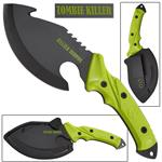 Zombie Killer Tactical Hunting Knife With Gut Hook Blade