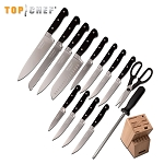 Top Chef Premier 15 Piece Block Kitchen Knife Set