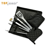Top Chef 7 Piece BBQ Chef Knife Set
