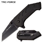 Tac Force 2.5 Inch Legal Spring Assisted Knife Black