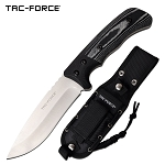 10 Inch Fixed Blade Tactical Knife Black G10 and Micarta Handle