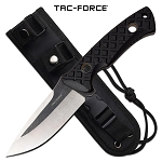Tac Force Full Tang Knife Outdoor Survival Knife Black G10 Handle