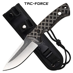 Tac Force Full Tang Knife Outdoor Survival Knife Tan G10 Handle