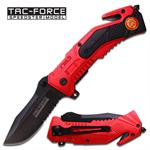 Tactical Fire Fighter Rescue Spring Assisted Knife