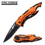 Tac-Force Bottle Opener Handle  Spring Assisted Opening Knife - EMT