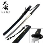 Ten Ryu 39 Inch Oriental Sword with 1045 Carbon Steel Blade