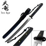 Ten Ryu 31 Inch Oriental Sword with 1045 Carbon Steel Blade