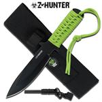 Zombie Hunter 2.8MM Thick Fixed Blade Knife with Fire Starter
