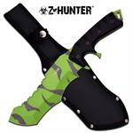 Z Hunter 13 Inch Fixed Blade Tactical Full Tang Knife - Zombie Coating Blade