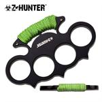 Z Hunter Green Cord Wrapped Hand Knuckle Duster