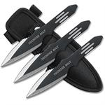 Zues Thunder Bolts Throwing Knives Set of 3