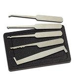 5 Piece Lock Pick Set with Case