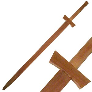 Two Handed Wood Training Sword